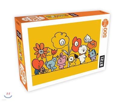 BT21 500피스 직소퍼즐 플라워