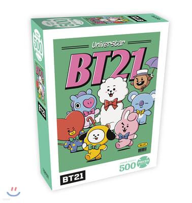 BT21 500피스 직소퍼즐 포스터