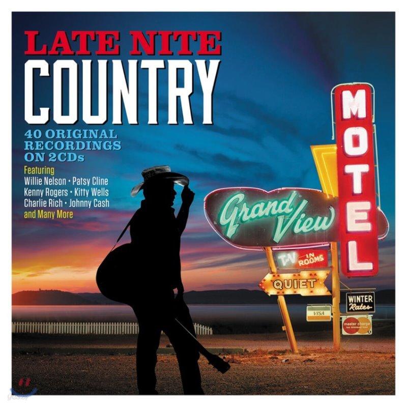 밤에 듣는 컨트리 명곡 모음집 (Late Nite Country)