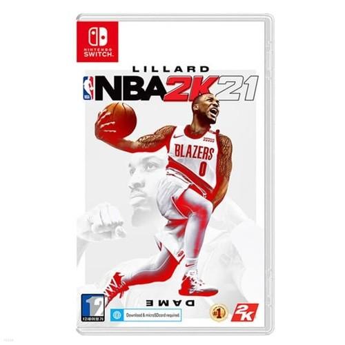 [닌텐도 스위치 타이틀] 닌텐도 스위치 NBA 2K21 일반판
