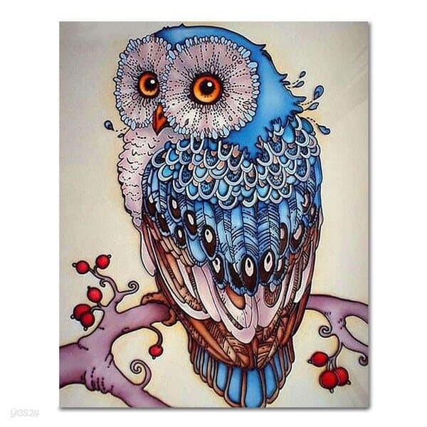 DIY 페인팅 럭키블루부엉이 PA15 (40x50)