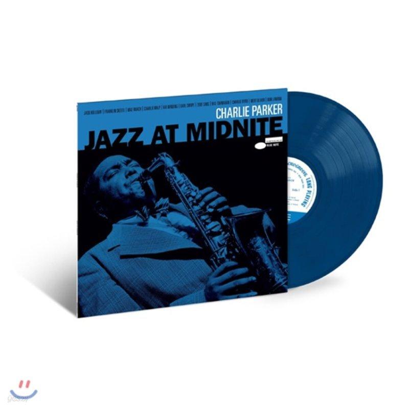 Charlie Parker (찰리 파커) - Jazz At Midnight: Live At the Howard Theatre [미드나잇 블루 컬러 LP]