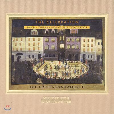 Die Freitagsakademie 바흐: 브란덴부르크 협주곡 전곡 (J.S.Bach : The Brandenburg Concertos 1721)