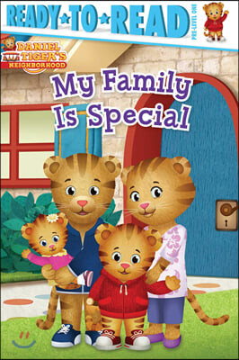 Ready to Read, Pre-level 1: My Family Is Special