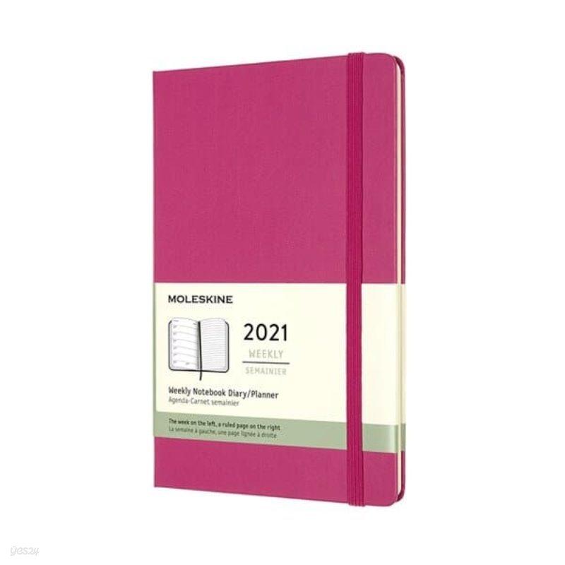 [메모시트GIFT] 2021위클리/부겐빌레아 핑크.하드 L