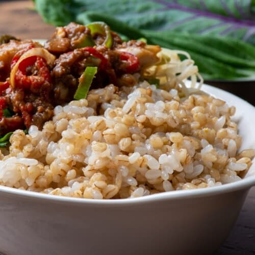 [싸리재] 보리밥 지어드세요 국산 유기농 찰보리...