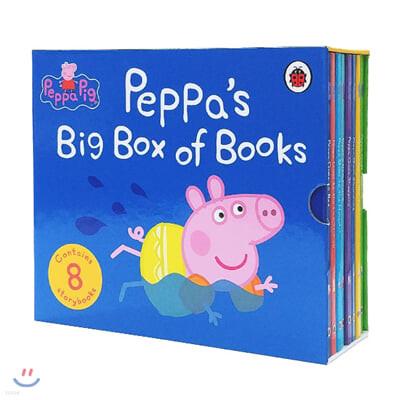 페파피그 큰 보드북 8종 박스 세트 Peppa's Big Box of Books (Landscape)
