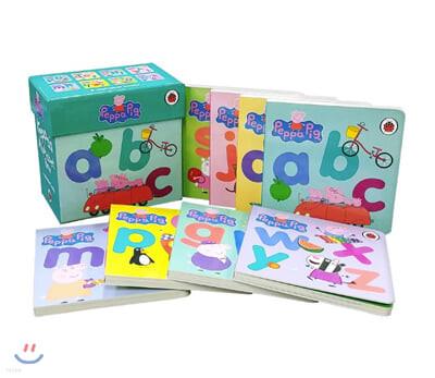 페파 피그 알파벳 박스 8종 세트 Peppa's Alphabet Box 8 Books