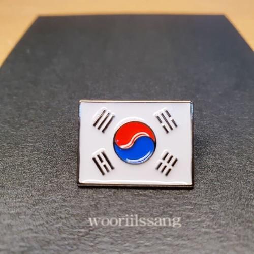 대한민국 국기 태극기 배지