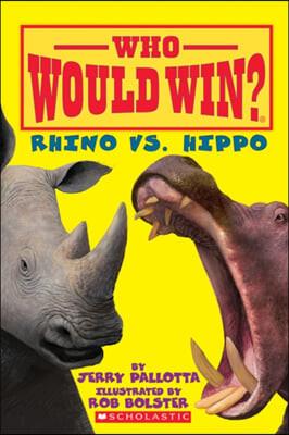 Rhino vs. Hippo (Who Would Win?)