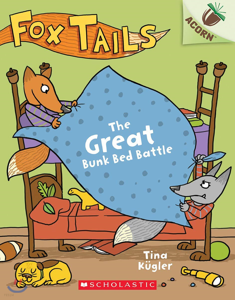 Fox Tails #01 : The Great Bunk Bed Battle