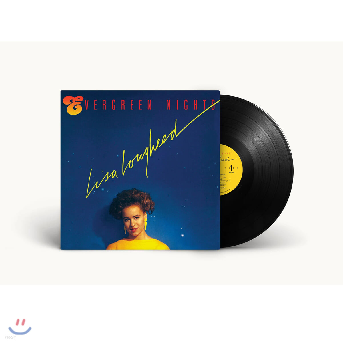 Lisa Lougheed (리사 루기드) -  1집 Evergreen Nights [LP]