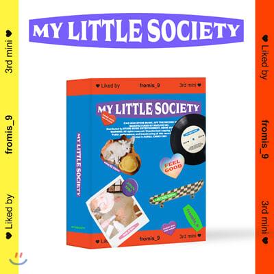 프로미스나인 (fromis_9) - 미니앨범 3집 : My Little Society [키트앨범]