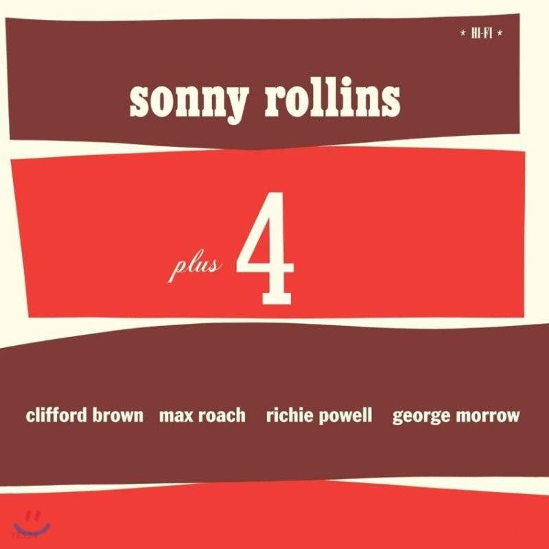 Sonny Rollins (소니 롤린스) - Plus 4 [LP]