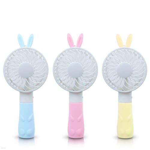 에이데이타)휴대용선풍기(F701H/토끼/옐로우)