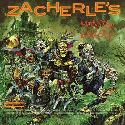 Zacherle (존 재컬리) - Zacherle's Monster Gallery [펌킨 스플래터 컬러 LP]