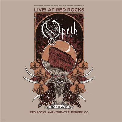 Opeth - Garden Of The Titans (Live At Red Rocks Ampitheatre)(2CD)