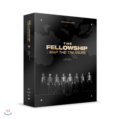 에이티즈 (ATEEZ) - ATEEZ WORLD TOUR THE FELLOWSHIP : MAP THE TREASURE SEOUL DVD