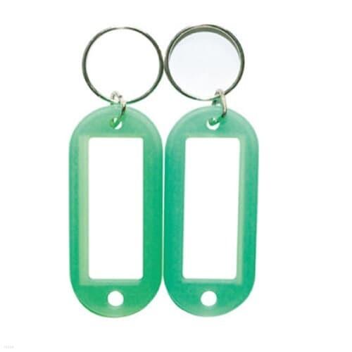 칼라열쇠고리(K-1000G)녹색