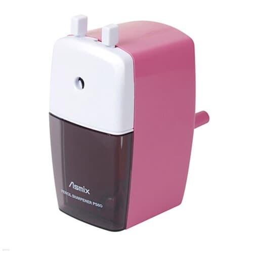 아스믹스)연필깍기(PS60P/핑크)