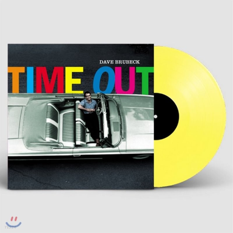 Dave Brubeck (데이브 브루벡) - Time Out [투명 옐로우 컬러 LP]