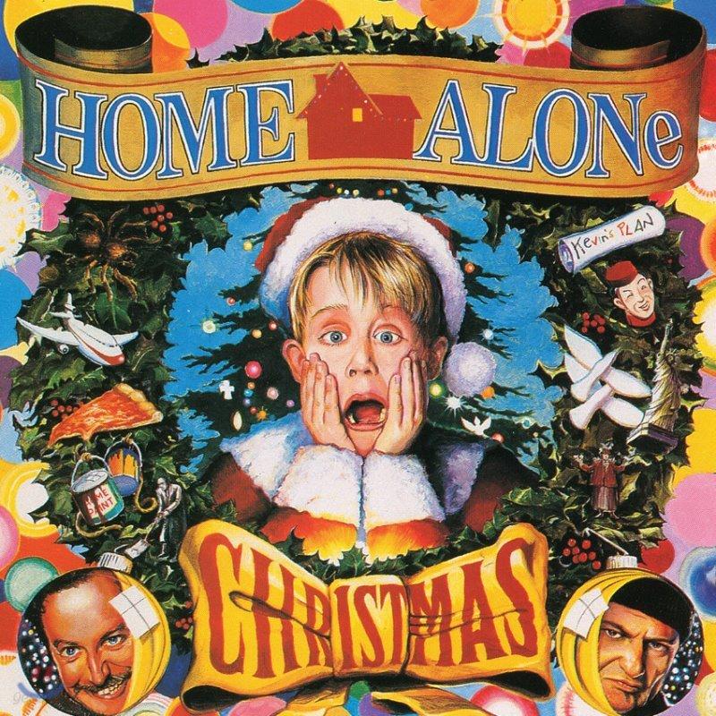 나홀로 집에 영화음악 (Home Alone Christmas OST) [산타 레드 컬러 LP]