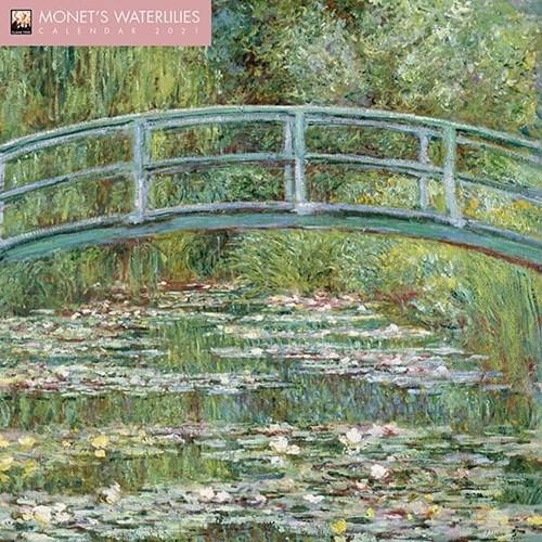 2021년 캘린더(FT) Monet's Waterlilies
