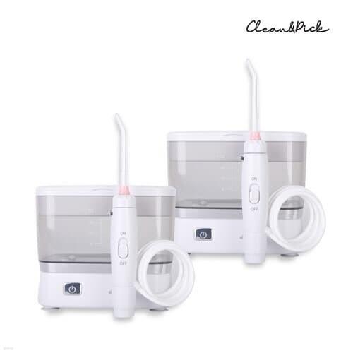1+1 휴대용 입문용 구강세정기 이클레어 CP-580 치간 구강세척기 치실 물칫솔 추석 명절선물 입냄새제거 위생