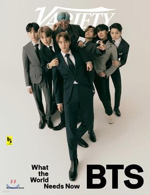 Variety (주간) : 2020년 09월 29일 : BTS 방탄소년단 커버