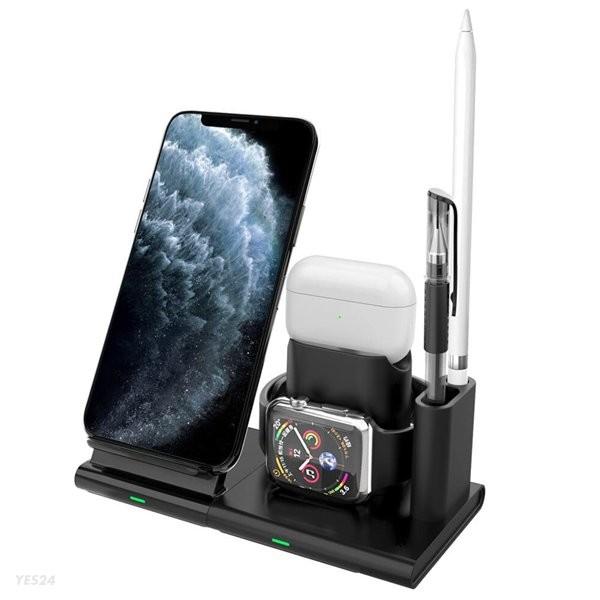 애플워치 아이폰 3in1 무선 충전기 에어팟 갤럭시 충전기 충전독 UMWH3in1 NEW