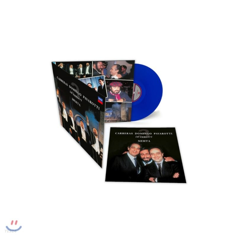 Jose Carerras / Placido Domingo / Luciano Pavarotti 쓰리 테너 로마 월드컵 공연 30주년 기념 앨범 [블루 컬러 LP]