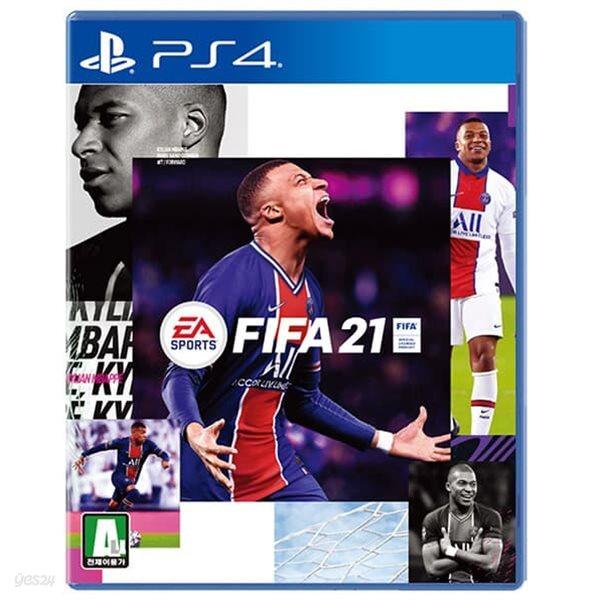 PS4 피파21 / FIFA 2021 한글 초회판 스탠다드