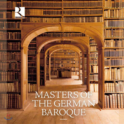 리체르카 레이블 40주년 기념 - 독일 바로크 음악 박스 세트 (Masters of the German Baroque)
