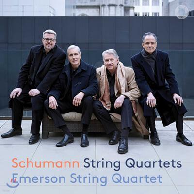 Emerson String Quartet 슈만: 현악 사중주 1-3번 (Schumann: String Quartets Nos. 1-3)