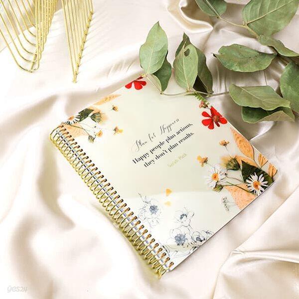 2021 체인저블 다이어리-Floral Natural(플로럴내추럴)