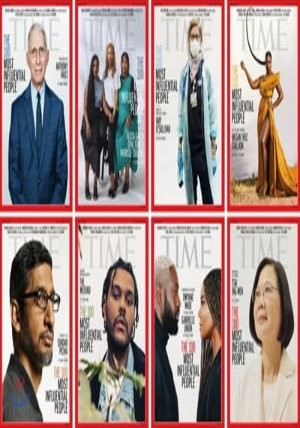 Time (주간) - Asia Ed. 2020년 10월 05일 : TIME 100 : 타임지 선정 가장 영향력 있는 인물 100인 봉준호 감독 (틸다 스윈턴 추천사), 정은경 질병관리청장 (문재인 대통령 추천사) 기사 수록