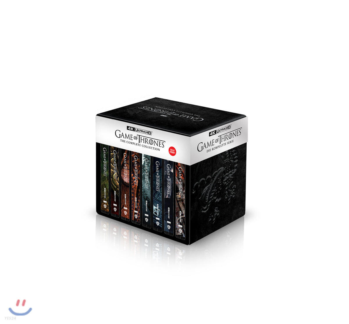 왕좌의 게임 컴플리트 콜렉션 (30Disc 4K UHD 스틸북) : 블루레이