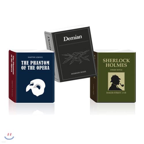 [YES24단독판매] 세계문학 포켓 티슈 [셜록홈즈 / 데미안 / 오페라의 유령]