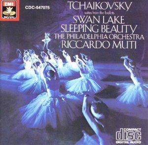 [미개봉] Riccardo Muti / 차이코프스키 : 백조의 호수, 잠자는 숲 속의 미녀 (Tchaikovsky : Swan Lake Suite, Sleeping Beauty) (수입/미개봉/CDC7470752)