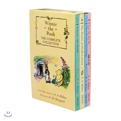 Winnie-the-Pooh The Complete Collection 4종 Box set