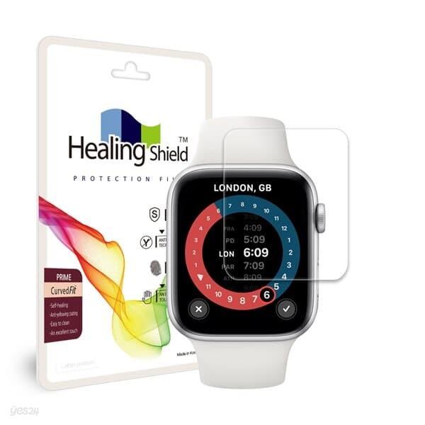 애플워치SE 44mm 프라임 고광택 액정보호필름 2매