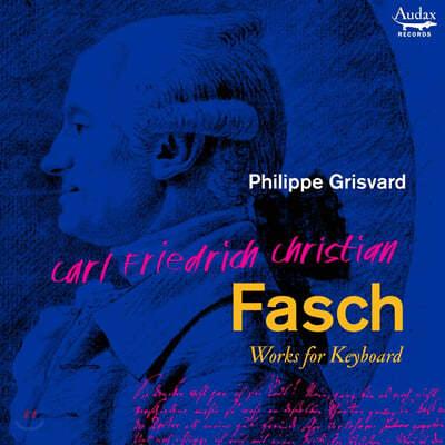 Philippe Grisvard 파슈 : 건반 작품집 (C.F.C. Fasch: Works For Keyboard)