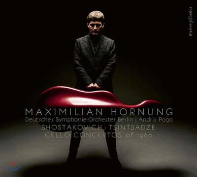 Maximilian Hornung 쇼스타코비치 & 술칸 친차즈 : 1966년의 첼로 협주곡 (Shostakovich & Tsintsadze: Cello Concertos of 1966)