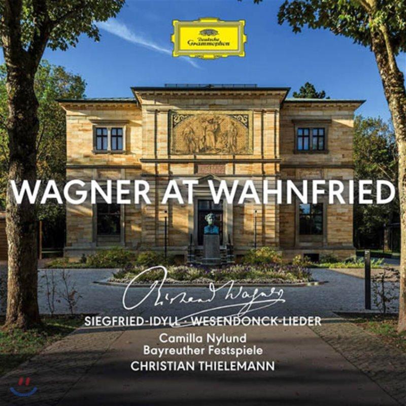 Christian Thielemann / Camilla Nylund 바그너: 지그프리트 목가, 베젠동크 가곡집 (Wagner at Wahnfried)