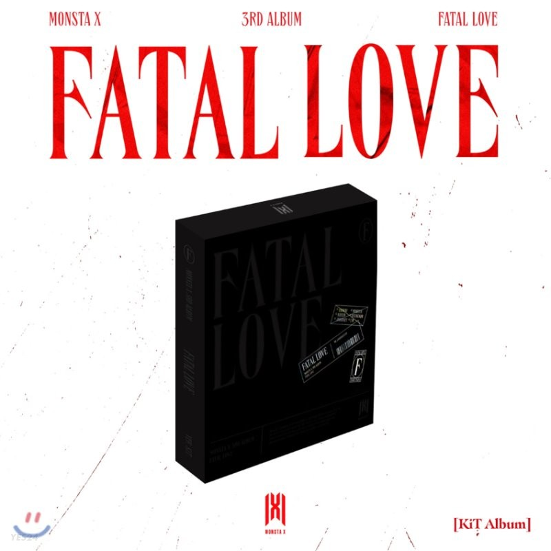 몬스타엑스 (MONSTA X) 3집 - FATAL LOVE [스마트 뮤직 앨범(키트 앨범)]