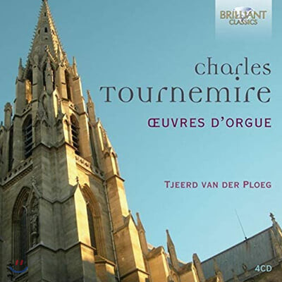 Tjeerd van der Ploeg 투르느미르: 오르간 작품집 (Charles Tournemire: Organ Music)