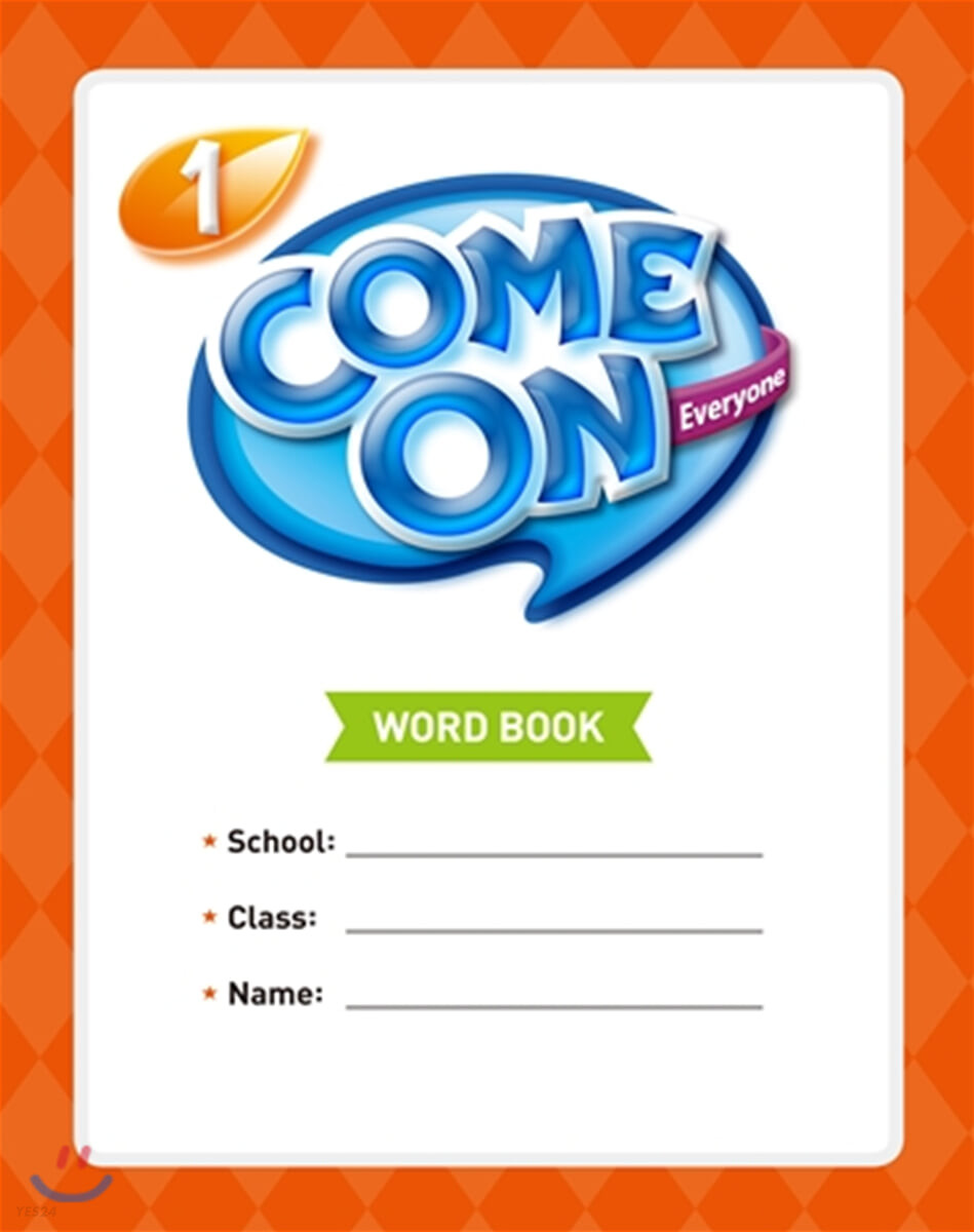 Come On Everyone 1 : Word Book