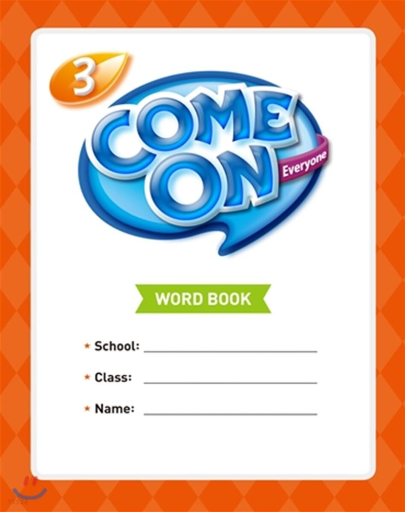 Come On Everyone 3 : Word Book