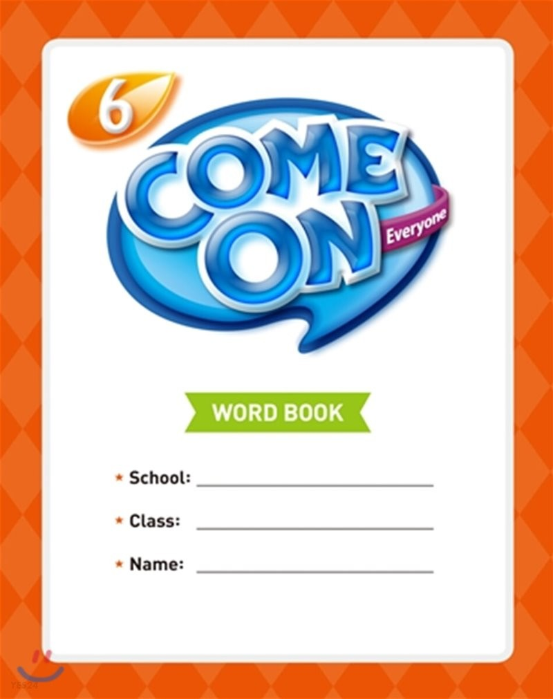 Come On Everyone 6 : Word Book