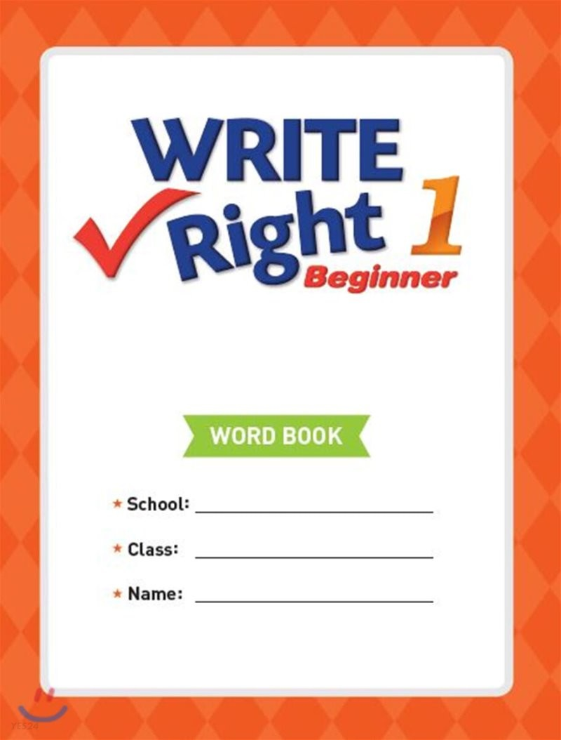 Write Right Beginner 1 Word Book